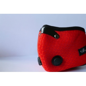 Global Travel Mask Red